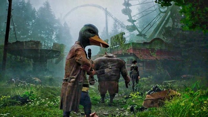 Безумный каст Mutant Year Zero: Road to Eden